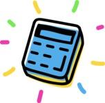 800+ Multi Style Icons Bundle - Free calculator icon 4