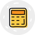 800+ Multi Style Icons Bundle - Free calculator icon 7