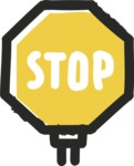 800+ Multi Style Icons Bundle - Free stop sign icon 2