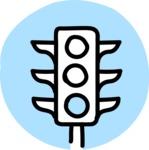 800+ Multi Style Icons Bundle - Free traffic light icon 2