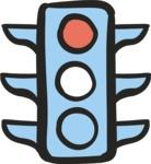 800+ Multi Style Icons Bundle - Free traffic light icon 4