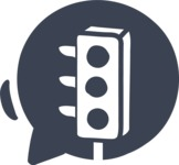 800+ Multi Style Icons Bundle - Free traffic light icon 5