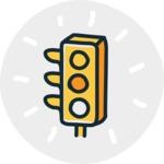 800+ Multi Style Icons Bundle - Free traffic light icon 6