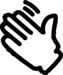 800+ Multi Style Icons Bundle - Free hello hand icon 1