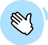 800+ Multi Style Icons Bundle - Free hello hand icon 3