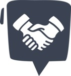 800+ Multi Style Icons Bundle - Free partnership icon 6