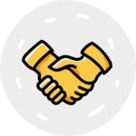 800+ Multi Style Icons Bundle - Free partnership icon 7