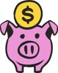 800+ Multi Style Icons Bundle - Free savings icon 5