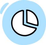 800+ Multi Style Icons Bundle - Free pie chart icon 3