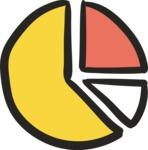 800+ Multi Style Icons Bundle - Free pie chart icon 5