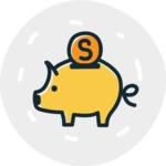 800+ Multi Style Icons Bundle - Free savings icon 7