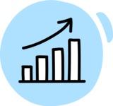 800+ Multi Style Icons Bundle - Free rising stats icon 3