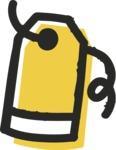 800+ Multi Style Icons Bundle - Free price tag icon 2