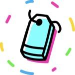 800+ Multi Style Icons Bundle - Free price tag icon 4