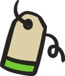 800+ Multi Style Icons Bundle - Free price tag icon 5