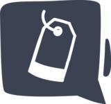 800+ Multi Style Icons Bundle - Free price tag icon 6