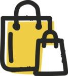 800+ Multi Style Icons Bundle - Free shopping bag icon 2