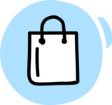 800+ Multi Style Icons Bundle - Free shopping bag icon 3