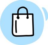 800+ Multi Style Icons Bundle - Free shopping bag icon 3