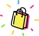 800+ Multi Style Icons Bundle - Free shopping bag icon 4