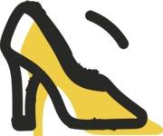 800+ Multi Style Icons Bundle - Free shoe fashion icon 2