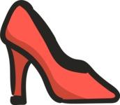 800+ Multi Style Icons Bundle - Free shoe fashion icon 5