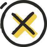 800+ Multi Style Icons Bundle - Free cross X icon 2