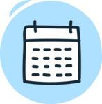 800+ Multi Style Icons Bundle - Free calendar icon 3