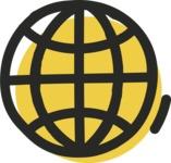 800+ Multi Style Icons Bundle - Free worldwide web icon 2