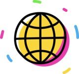 800+ Multi Style Icons Bundle - Free worldwide web icon 4