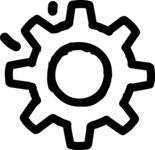 800+ Multi Style Icons Bundle - Free cog wheel icon 1