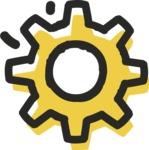 800+ Multi Style Icons Bundle - Free cog wheel icon 2