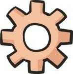 800+ Multi Style Icons Bundle - Free cog wheel icon 5