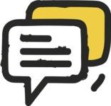 800+ Multi Style Icons Bundle - Free communication icon 2
