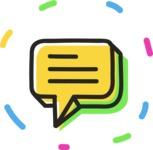 800+ Multi Style Icons Bundle - Free communication icon 4