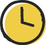 800+ Multi Style Icons Bundle - Free clock icon 2