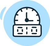 800+ Multi Style Icons Bundle - Free countdown icon 3