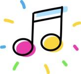 800+ Multi Style Icons Bundle - Free music icon 4