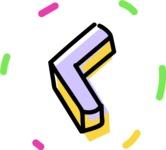 800+ Multi Style Icons Bundle - Free slide left icon 4