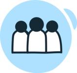 800+ Multi Style Icons Bundle - Free group icon 3