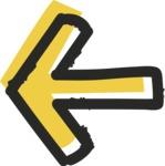 800+ Multi Style Icons Bundle - Free left arrow icon 2