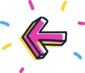 800+ Multi Style Icons Bundle - Free left arrow icon 4