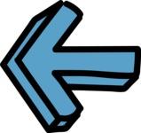 800+ Multi Style Icons Bundle - Free left arrow icon 5