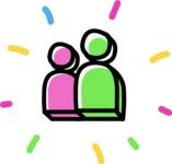 800+ Multi Style Icons Bundle - Free group icon 4