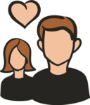 800+ Multi Style Icons Bundle - Free group icon 5