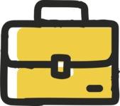 800+ Multi Style Icons Bundle - Free briefcase icon 2