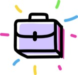 800+ Multi Style Icons Bundle - Free briefcase icon 4