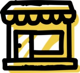 800+ Multi Style Icons Bundle - Free shop icon 2