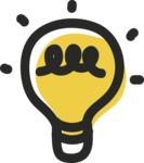 800+ Multi Style Icons Bundle - Free light bulb icon 2