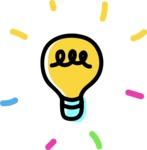 800+ Multi Style Icons Bundle - Free light bulb icon 4